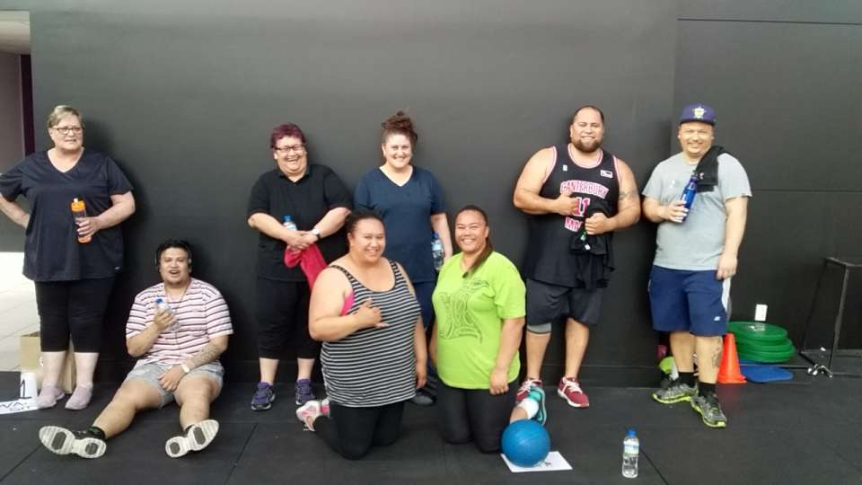 Introducing Our 6 week challengers the MAURIA TE PONO crew!!! So awesome to be a part of their journey. First session down and I am proud of them already. Nau mai whanau. Onwards and upwards.Lets Do this. #SHY #MTP #MMN