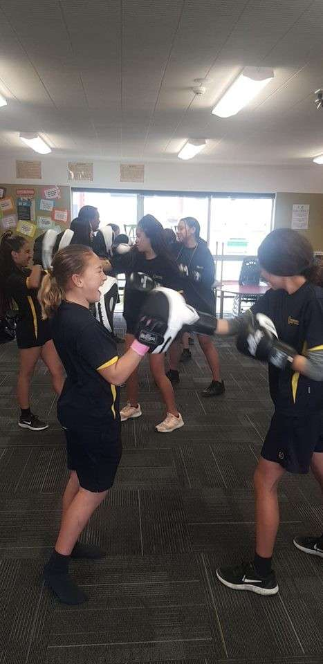 WeRWahine boxing has taken off! Nearly all of these wahine have never tried boxing and they're already improving so much! Hornby and Ashburton both have two groups as a part of this terms program.. that's nearly 40 young females boxing every week! So exciting :)