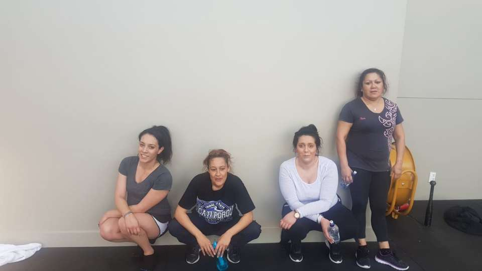 Yesterdays weights circuit with Mauri ora, the community and some TTT :) So cool! See you guys next Monday at 9.30am :)