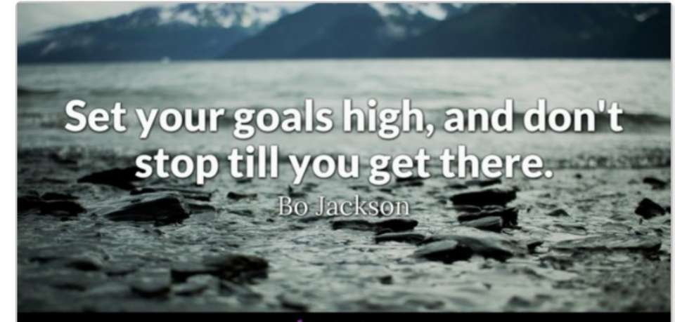 How did you go with your goals this week...