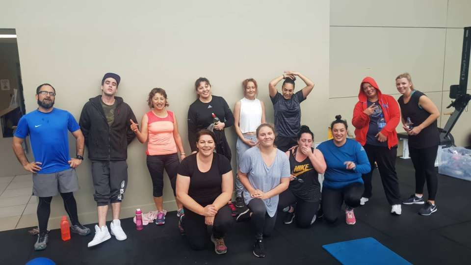 Monday workout done..a bit different to our usual but always good to try new things! Even got to do a bit of boxing :) Well done whanau!