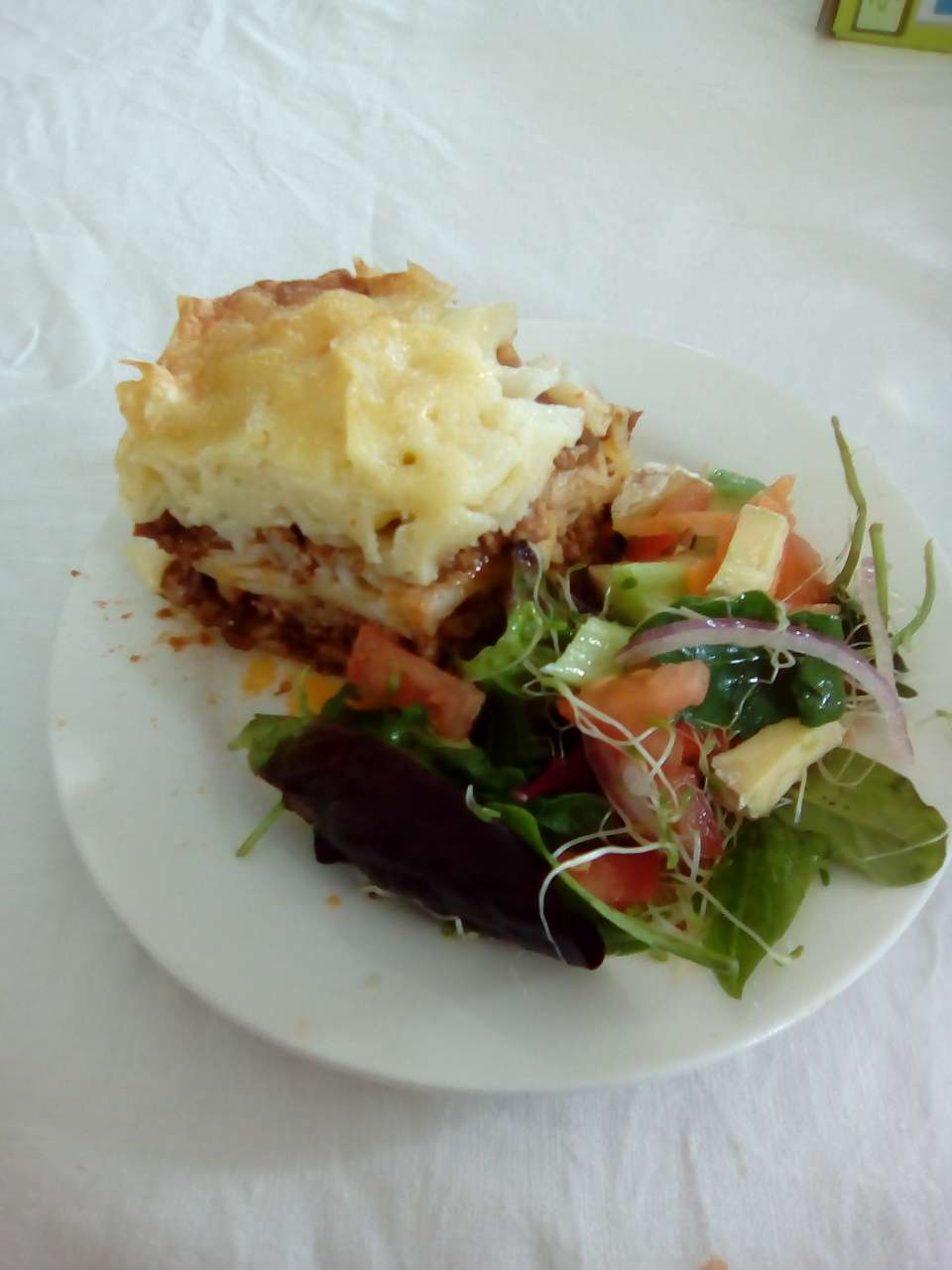 Me and my kids made Lasagna & salad for tea last night....<br />Have a good weekend