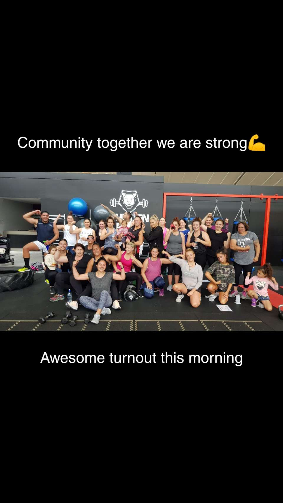 Yes we are surely getting it done done there in the lions den. Mean mahi whanau. Monday madness at its finest. We put the Unity in community.. Lol.. But really #SHY #MMN