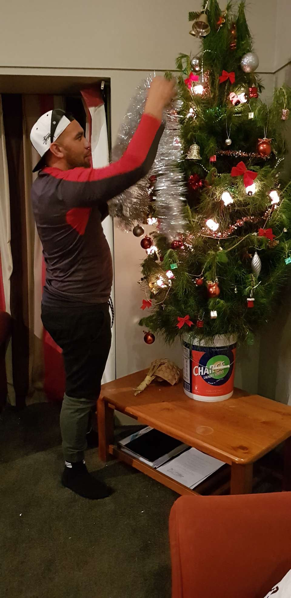 Its starting to feel like Xmas Busy night at the Whare to-night