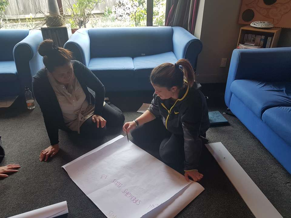 So nice to be back at our Mauri Ora whare, Pathway Planning this am with Mauri Ora ....Some awesome whaiora wanting something different, and planning to do just that....