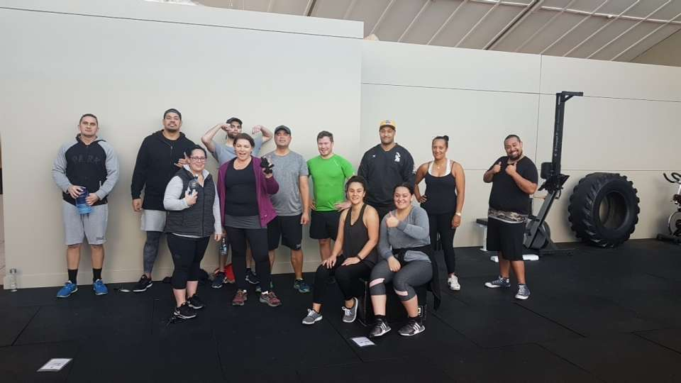 Friday Morning Gym Session.. Mean whanau great hit out..Come join in.. 9.30am..