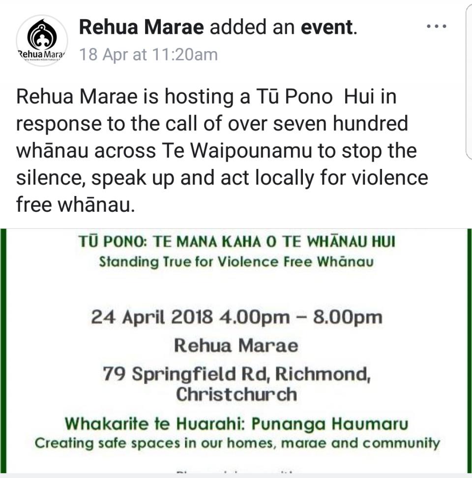 Morena whanau.... Keep connected to you