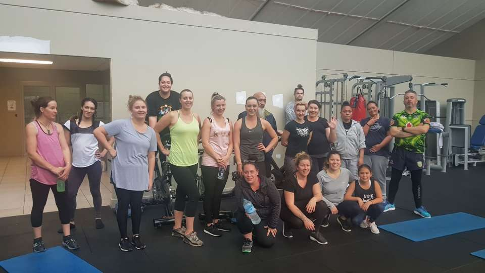 Yesterday we had a massive class at gym, it was so amazing!! They started off their week with some Monday Madness! Check out this work out :) You guys are awesome! See you Wednesday at 12.15pm