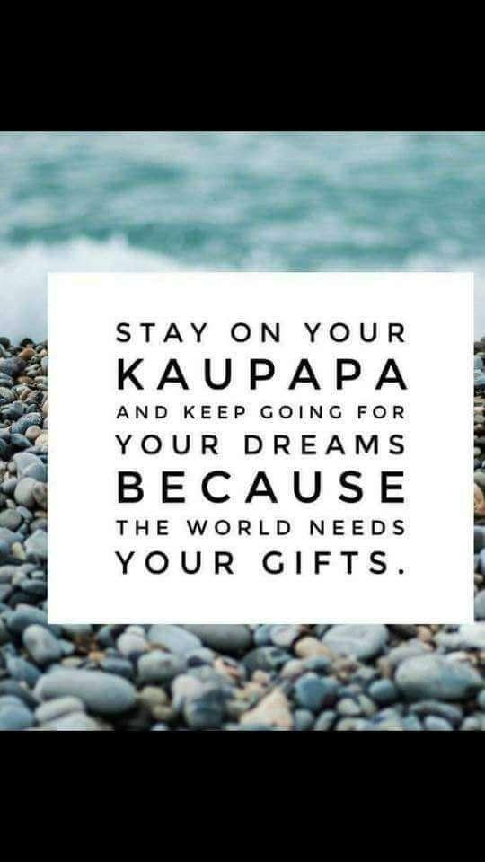 Keep on your kaupapa whanau its soo worth it....Mauri Ora