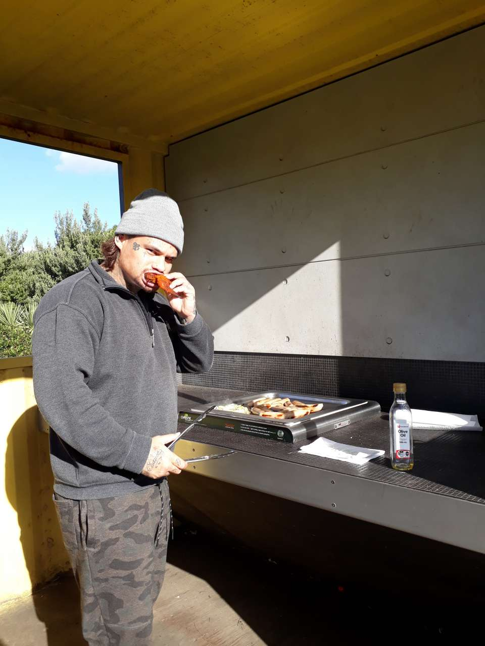 Took ko au group session oit of the classroom today; Boundaries at the beach; bbq; bangers and bread; cool way to end the week.Mauri Ora whanau
